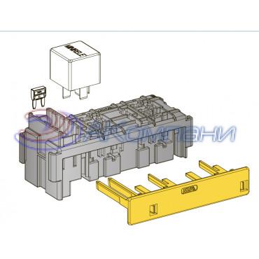 Вторичный замок держателя предохранителей MINIVAL и реле MINI  (4+2)