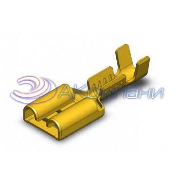 Гнездо не изолированное 6,3мм, сечение от 0,5-1мм2 - SF1DK (6.3) DP