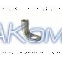 Наконечник кольцевой под винт гнутый под 90° 150 кв.мм винт 12 мм (ТМЛ)