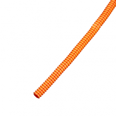 """Автомобильная гофра оранжевая разрезная """"B"""" внутр. д. 4,6 мм."""
