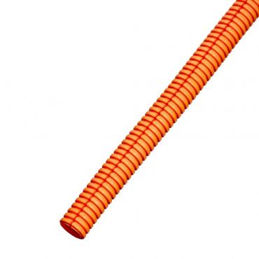 """Автомобильная гофра оранжевая разрезная """"B"""" внутр. д. 11.5 мм."""