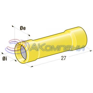 Клемма соединитель d=3,4, сечение провода 2,5 мм- 6 мм2