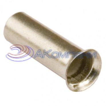 Наконечник-гильза неизолированный 16 кв.мм, длина - 12 мм (НШВ)