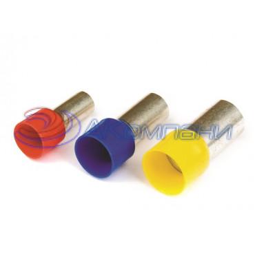 Наконечник-гильза 8 мм с изолир.фланцем 0,25 кв.мм фиолетовый (НШВИ)