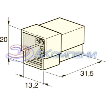 Разъем 6,3 мм, 3х контактный папа