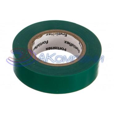 Изолента ПВХ Зеленая, 15x0.15х10, 71225