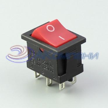 Клавишный переключатель KCD1-1-202, 6c (768)