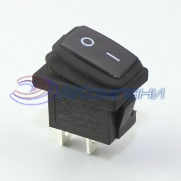 Клавишный переключатель KCD1-2-101W , 2c (768WL)