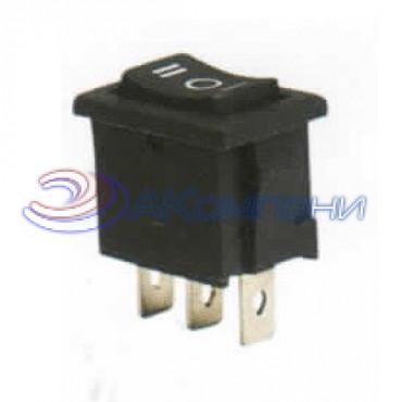 Клавишный переключатель KCD1-2-103, 3c нейтраль (768)