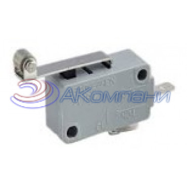 Микропереключатель SC799 пластина+ролик, d=30мм, 16А (520)