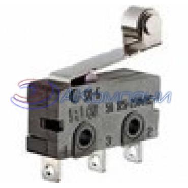 Микропереключатель SC7301 ролик, 3c, 5A (JQ)