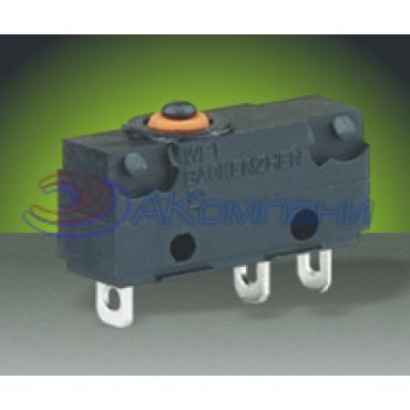 Микропереключатель SC7301, 3c, 5A влагозащита