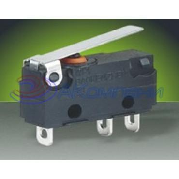 Микропереключатель SC7301, 3c, пластина 5A влагозащита