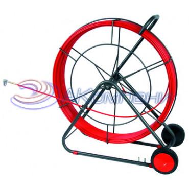 Устройство закладки кабеля на вращ. барабане, стеклопруток д.4,5мм, 50м