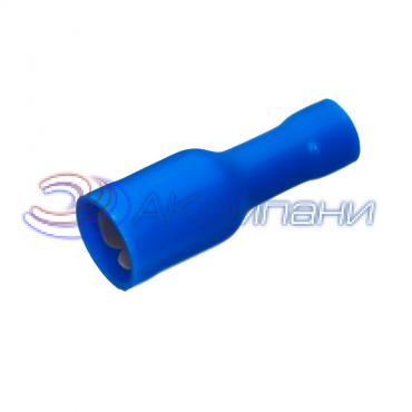 """Клемма изолированная цилиндрическая """"мама"""", сечение провода 1.5-2.5  мм²,  материал изоляц. - винил (PVC)"""