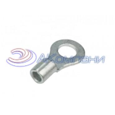 Клемма неизолированная кольцевая, сечение провода 0.25-1.5 мм², материал - медь