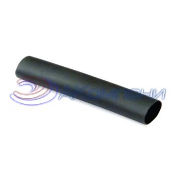 Термоусаживаемая самозатухающая трубка c клеевым составом в рулоне 24/8 мм черный 3:1
