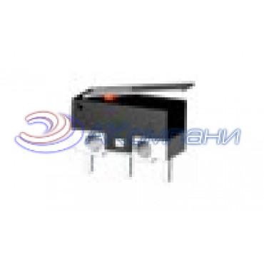 Микропереключатель KW-10, 3c, пластина, 3A мышь (FKX004)