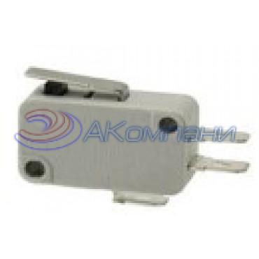Микропереключатель SC799 пластина, d=10мм, 16А (519)