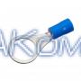 Клемма кольцевая под болт M10, сечение провода 1.5-2.5  мм², материал изоляции - винил