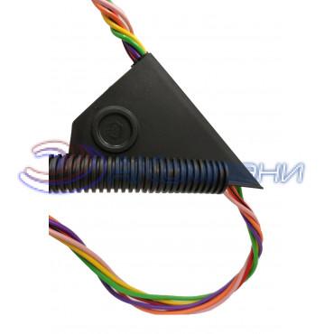 Инструмент для монтажа кабеля в полипропиленовую гофрированную разрезную автотрубу от 12мм